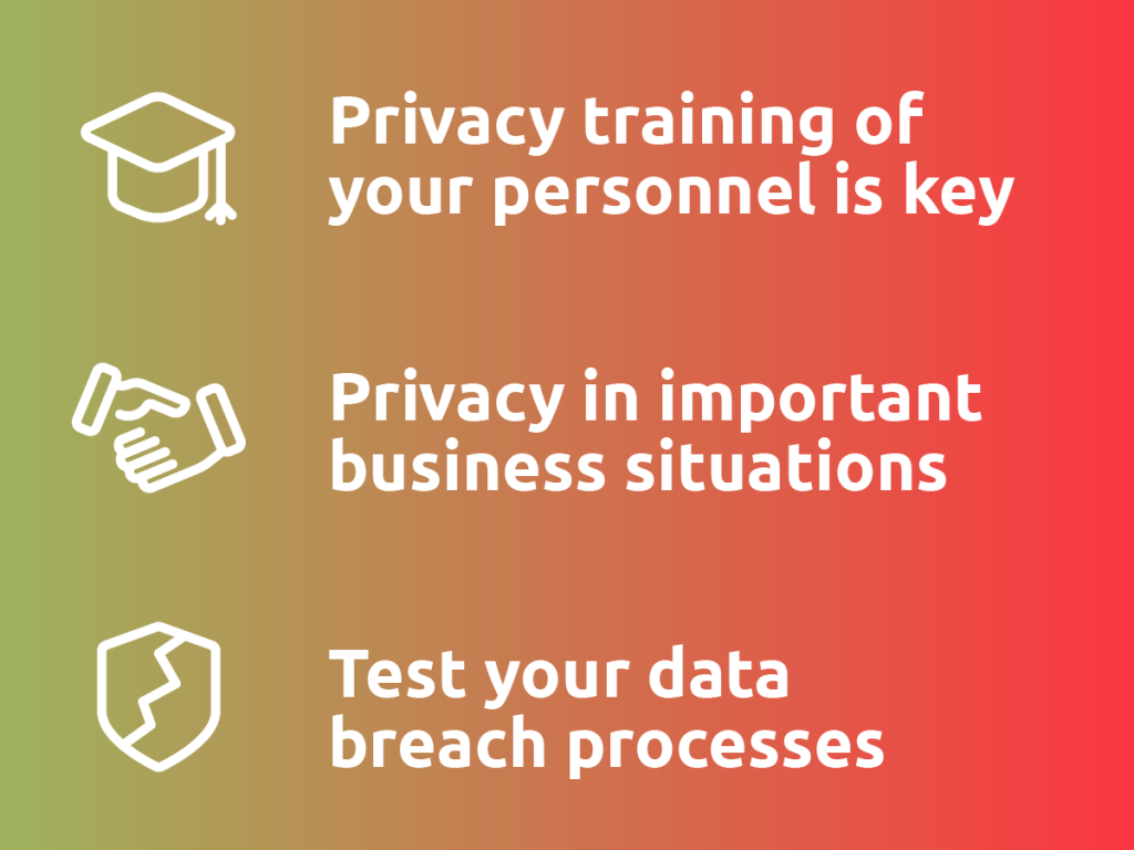 Privacy trends infographic